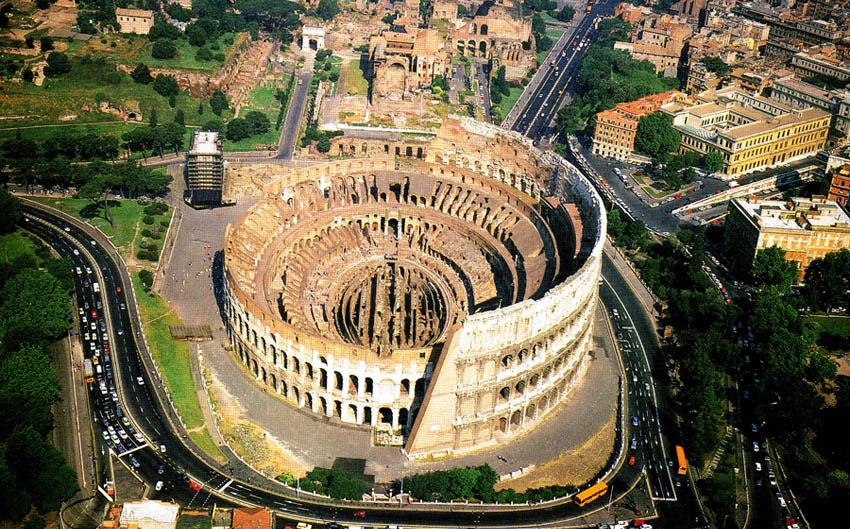 Arsitektur Romawi kuno, Revolusi Arsitektur Romawi