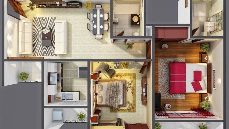 Desain Rumah dengan Konsep yang buat kita Nyaman